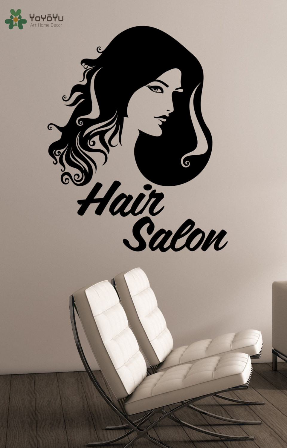 YOYOYU Wall Decal Hairdressing Hair Salon Vinyl Wall Stickers - Custom vinyl wall decals for hair salonvinyl wall decal hair salon stylist hairdresser barber shop
