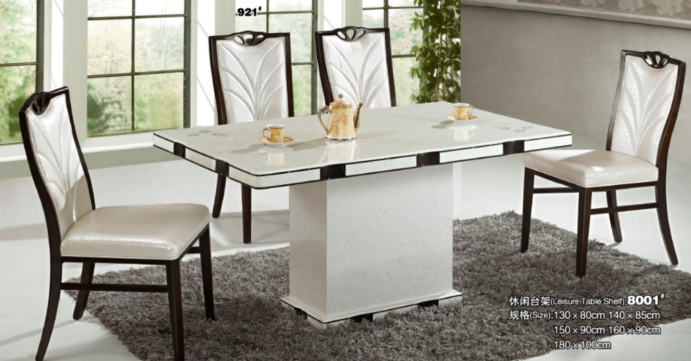 2015 New Design Marble Luxury Dining Table