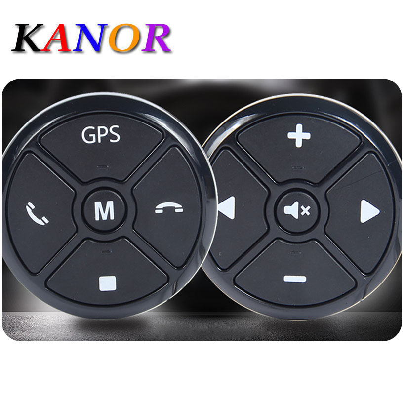 KANOR Car Wireless Universal Steering Wheel buttons Smart steering wheel Remote Controller Kit canbus control туника liu jo f64127j7240 р s int