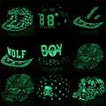 IMucci Graffiti Luz Fluorescente Snapback Caps Gorra de béisbol Hip Hop Hombres Casquette Mujeres Muchacha Noctilucence Sombreros Niño Sombrero Luminoso