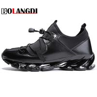 Bolangdi 2018 New Running Shoes For Men Sport Jogging Sneakers Mesh Breathable Comfortable Trail Outdoor Trekking Walking Shoes