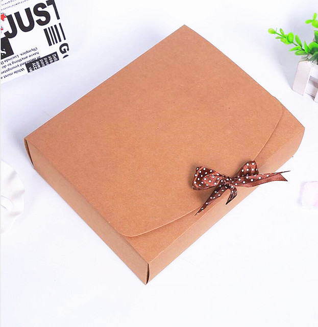 15275dc1c 40pcs lot Christmas gift box clothes scarf sweater packages
