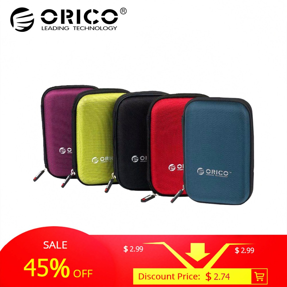 ORICO PHD 25 2 5 Inch Protection Bag for External Portable HDD Box Case Black Red