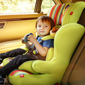 Color brillante de Lujo Asiento de Coche de Bebé Asiento de Seguridad Infantil Asiento de Coche Ovejas para 0-12 Años de Edad