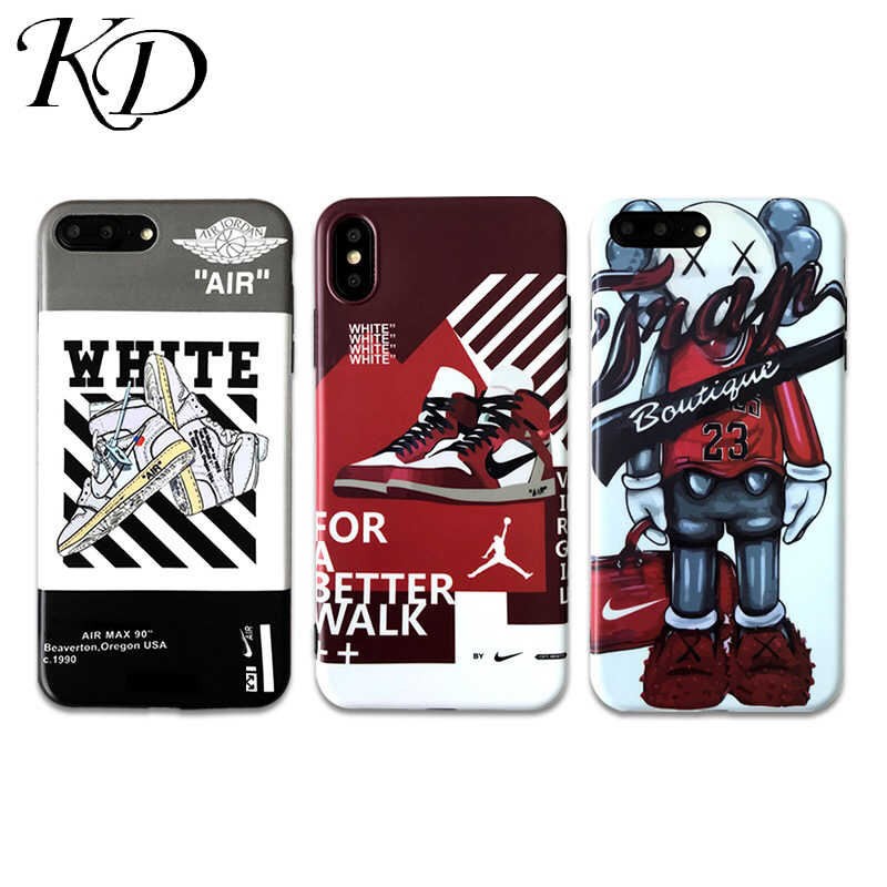 77d7568e54c8ad Trend Ow off Air Jordan AJ1 Sport Shoes Phone Cases for iphone 6 6S 7 8