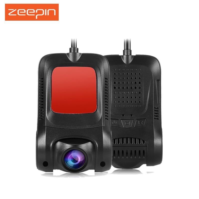 ZEEPIN RS300 WiFi Car Hidden Dash Cam Car DVR Novatek 170 degree 1080P WDR G-sensor Night Vision Car Driving Recorder