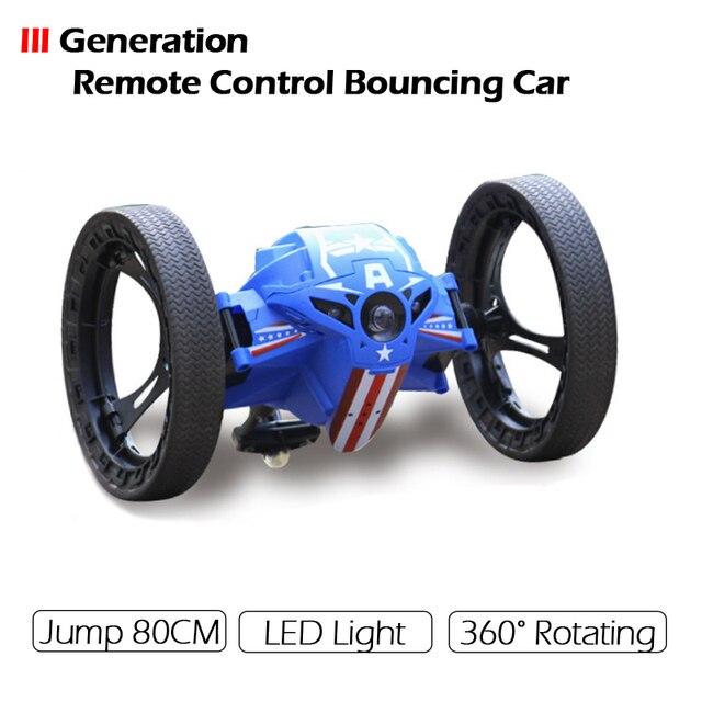 2017 Версия III Mini Remote Control Автомобиль Отказов 4CH 2.4 ГГц Прыжки Сильных Сумо Гибкие Диски Робот Автомобиль для Подарков