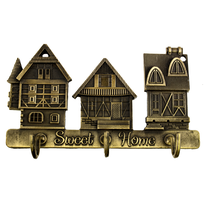 Creative furniture.Exclusive House Design Lovely hooks the Metal charm hooks for clothes Size 7*7*2CM happy family Holiday Gifts
