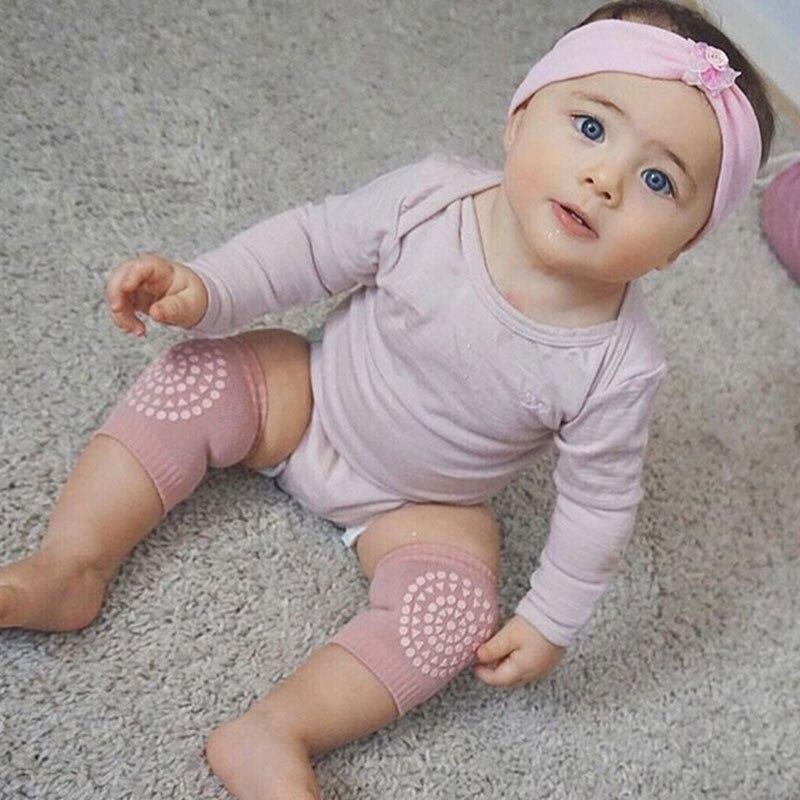 Многофункциональные наколенники для ползания, противоскользящие наколенники для ног - Цвет: light pink