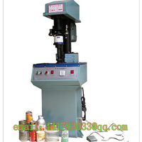 DGT41ASemi Automatic Sealing Machine Tin Cans Aluminum Cap Sealing Machine Plastic Jar Capper Potato Chips Cans