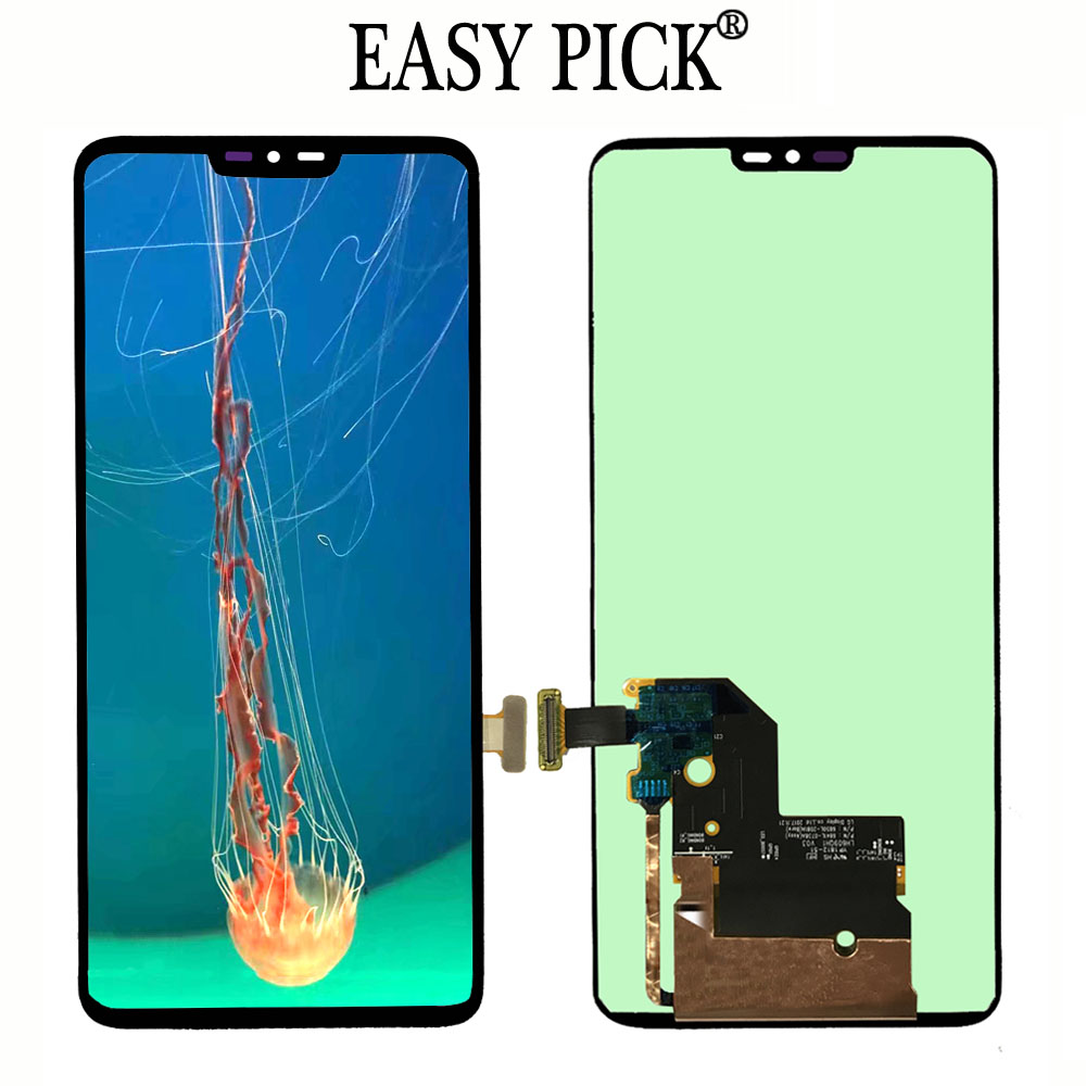 For LG G7 ThinQ G710EM G710PM G710VMP G710TM G710N G710VM LCD Display Touch Screen Digitizer Assembly