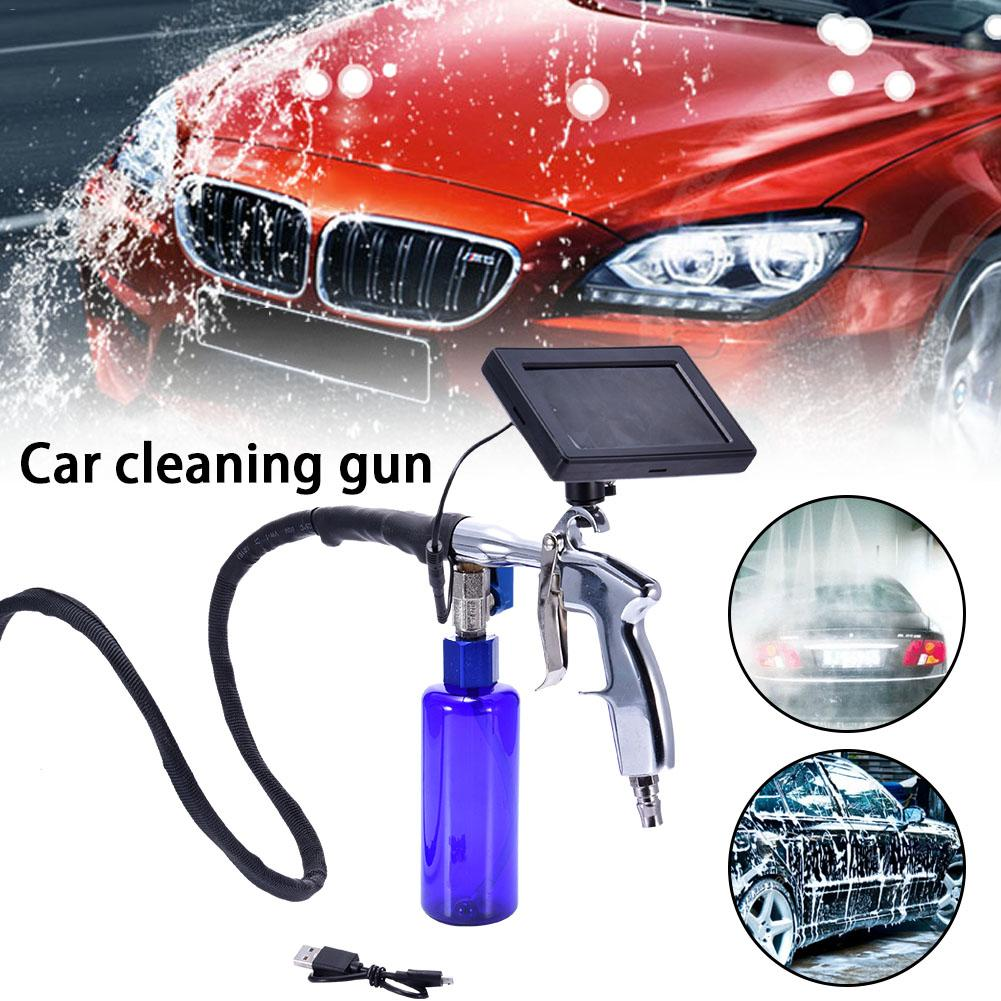 4.3 Inch Visual Video Endoscope Car Cleaning Pistol Air Conditioning Cleaner Pipe Endoscope Cleaning Gun Car Washer цена