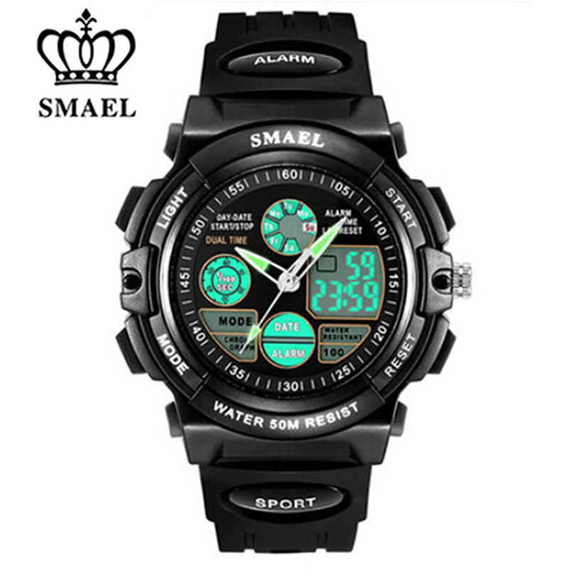 2018 S SHOCK Brand  Kids Sports Watches Children Sport Watch Military Fashion Quartz Digital Watch Boys Girls Wristwatch Relojes
