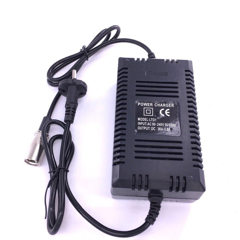 Высокое качество 36 В питания свинцово-кислотная батарея зарядное устройство электрический велосипед Скутер зарядное устройство 36 В 1.8A 2.0A с…