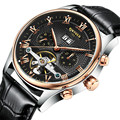 KINYUED5 mechanical men's watches, high quality precision waterproof wrist watch brand, automatic calendar leisure fashion watch