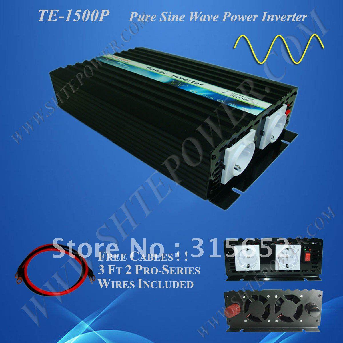 Hot sell 1500w Pure Sine Wave Power Inverter DC 12V to AC 240VHot sell 1500w Pure Sine Wave Power Inverter DC 12V to AC 240V