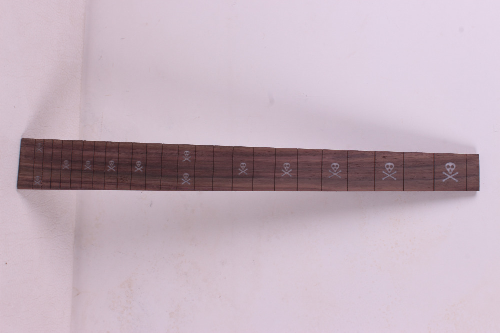 1 pcs Guitar Fretboard Fingerboard Fretless Guitar parts Dot inlaid Maple wood #22 global advanced coursebook