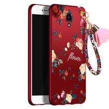 Для Сяо Mi MI4 Чехол Ультра тонкие цветы живопись мягкая ТПУ Силиконовые полный назад обложки сотовый телефон ремешок для xiao Mi 4