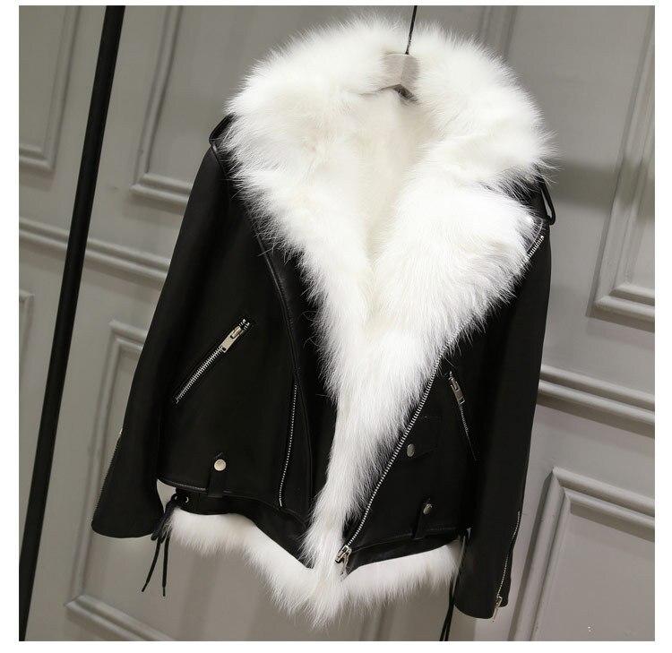 vestes fourrure Faux survêtement 9