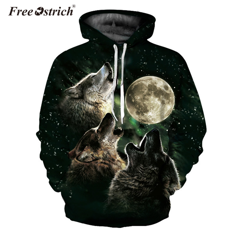 Free Ostrich Hoodies Men Women Hoodies 3D Hooded Sweatshirts Fashion Pullover Tracksuits Animal Brand Quality Coat Dropshipping