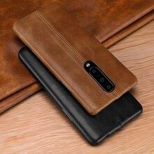 Чехол для OnePlus 7/ Pro, чехол из натуральной кожи для OnePlus 6 6T, чехол, роскошный кожаный чехол накладка с прострочкой для OnePlus 7 Pro 6T