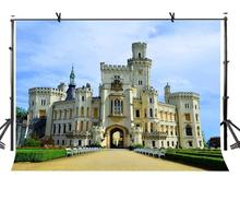 7x5ft Castle Backdrop European Famous Photography Background and Studio Props