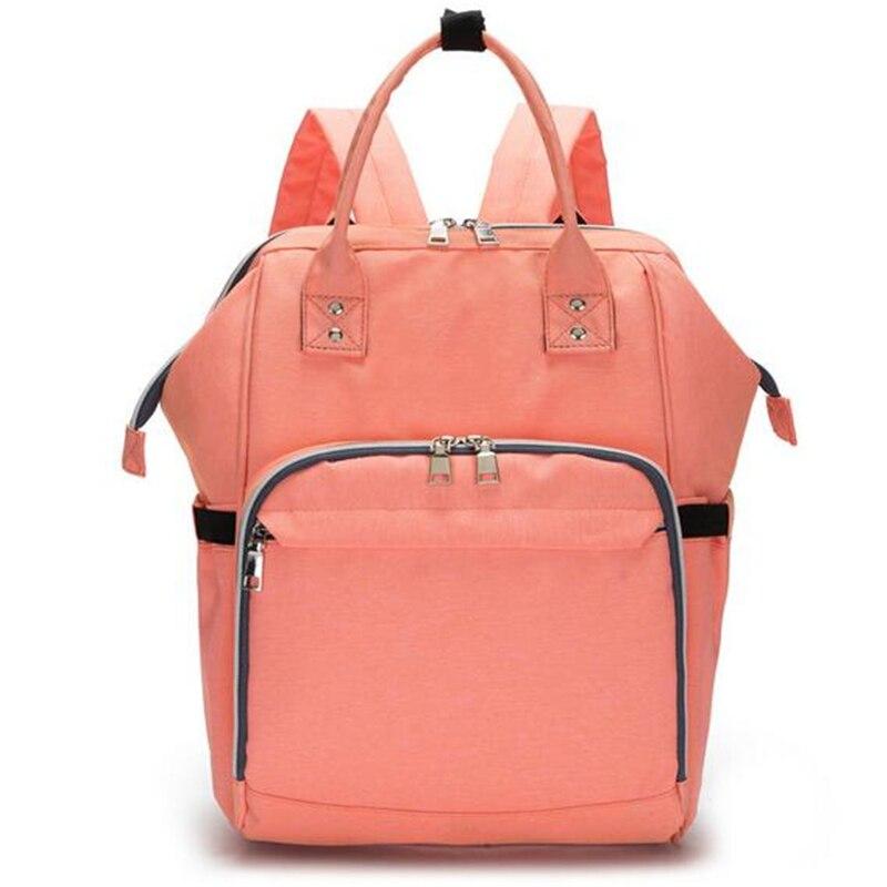 HTB19CKlbiLrK1Rjy1zdq6ynnpXa0 23 Colors Fashion Mummy Maternity Nappy Bag Large Capacity Baby Diaper Bag Travel Backpack Designer Nursing Bag for Baby Care