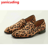 New Colorful Men Casual Shoes Multicolor Spikes Boat Flats For Men Low Top Casual Party Shoes