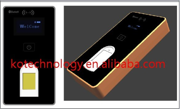 Free Shipping KO ZM21 Bluetooth Fingerprint Scanner for Android font b iPhone b font