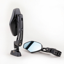 Pair Black Custom Racing Rearview Mirror for Honda Suzuki Kawasaki Yamaha