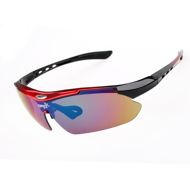 Brand new cycling glasses men women unisex fishing road bike outdoor sunglasses with case 4 colors