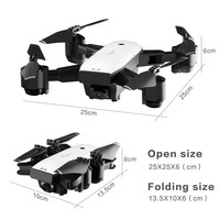 SMRC S20W 6 Axles Gyro Mini Drone with 110 Degree Wide Angle Camera 2.4G Altitude Hold RC Quadcopter Portable RC Model