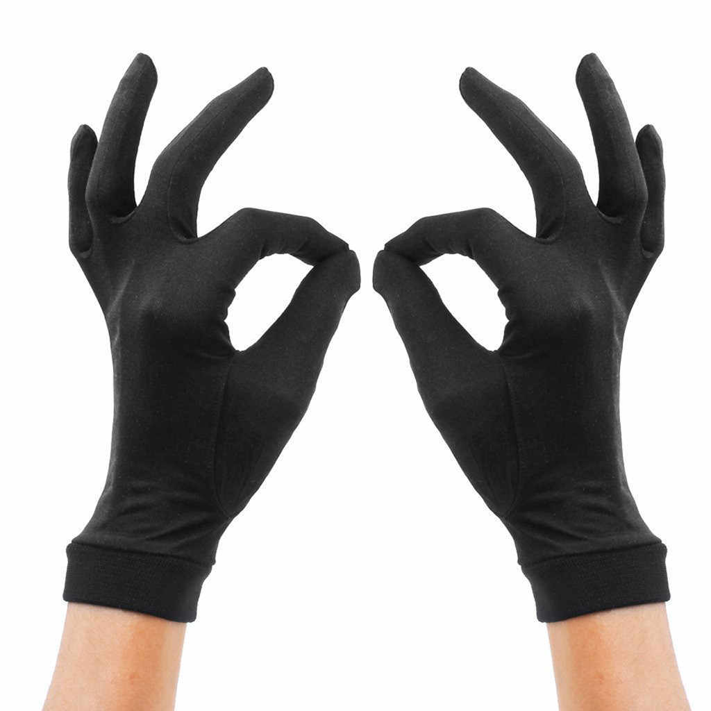 Womens 100% Silk Glove Sport Gloves Liners/Thermals/Inners - Womens Motorbike/ Winter/Running Gloves #L4