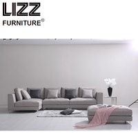 China Corner Sofas Loveseat Chair High Quality Fabric Living Room Sofas Furniture Modern Design Corner Fabrics Sofa France