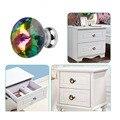 K9 Crystal Glass Handle Diamond Shape Knob With Screw 1pcs 30mm Furniture Door Kitchen Cabinet Drawer Wardrobe pull Handle 1007