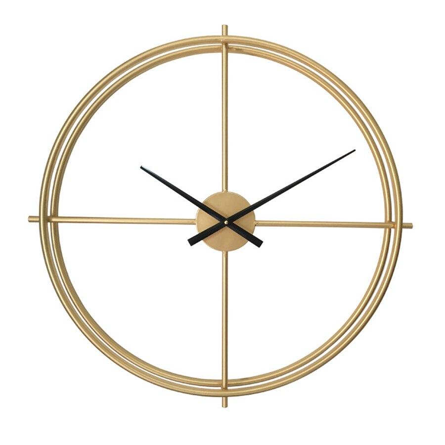 Di modo Creativo Design Moderno Orologio Da Parete Soggiorno di Grandi Dimensioni Decorative Horloge Murale Orologio Digitale Meccanismo di Complementi Arredo Casa 50Q031