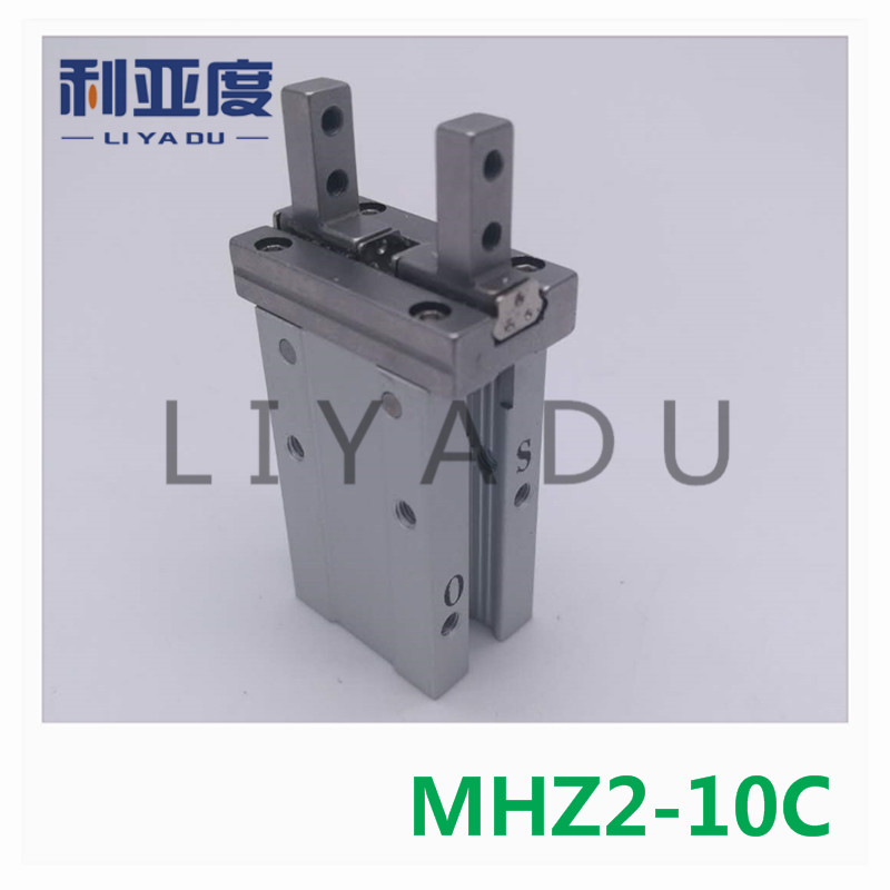 MHZ2-10C pneumatic pneumatic SMC finger cylinder parallel open double-acting parallel open Single action (often closed) air clawMHZ2-10C pneumatic pneumatic SMC finger cylinder parallel open double-acting parallel open Single action (often closed) air claw