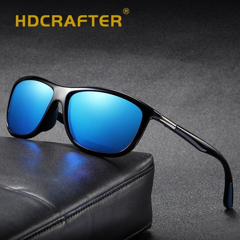 HDCRAFTER Brand Men's Fashion Polarized Sunglasses Men Women Driving Sun Glasses For Male Goggle UV Protection Gafas De Sol