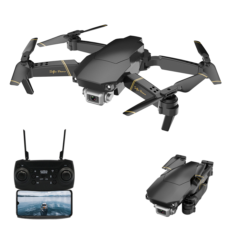GlobalDrone GD89 Foldable RC Drone With Gravity Sensing VR Function Swift Auto Obstacle Avoidance Remote Control Helicopters Toy