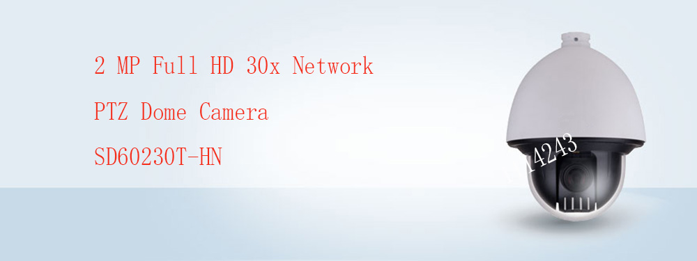 DAHUA Security IP Camera CCTV 2Mp Full HD 20x Network PTZ Dome Camera IP67 IK10 POE without Logo SD60230T-HN dahua 2mp full hd 20x network ptz dome camera ip67 vandalproof poe without logo sd60220t hn
