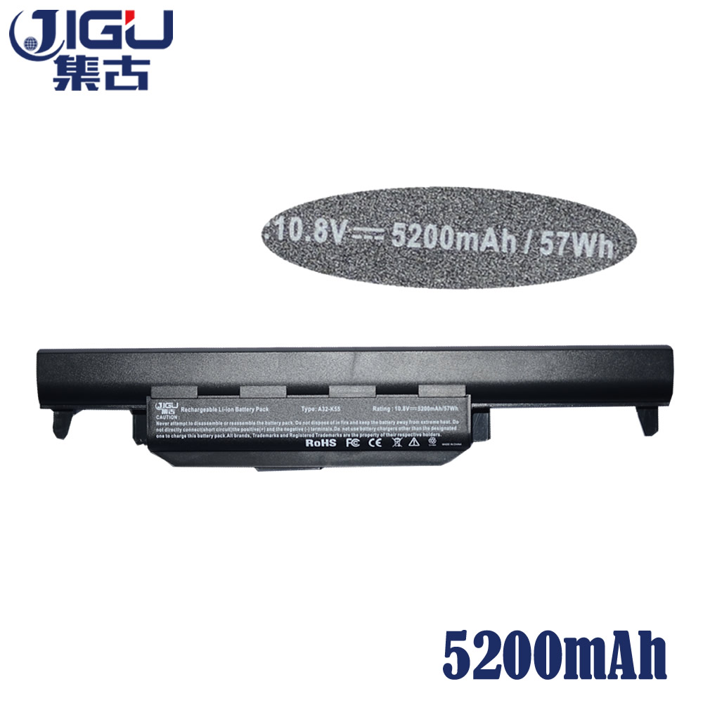 Image 5 - JIGU Laptop Battery A32 K55 A33 K55 A41 K55 For Asus A45 A55 A75 K45 K55 K75 R400 R500 R700 U57 X45 X55 X75 Series-in Laptop Batteries from Computer & Office