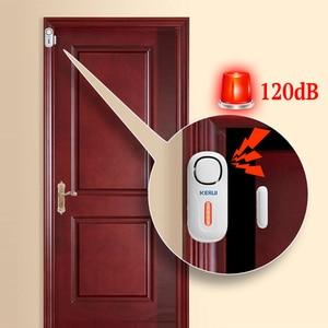 Image 2 - KERUI 120dB Wireless PIR Door Window Burglar Alert Sensor Home Security Arm Disarm Anti Theft Alarm System with Remote Control