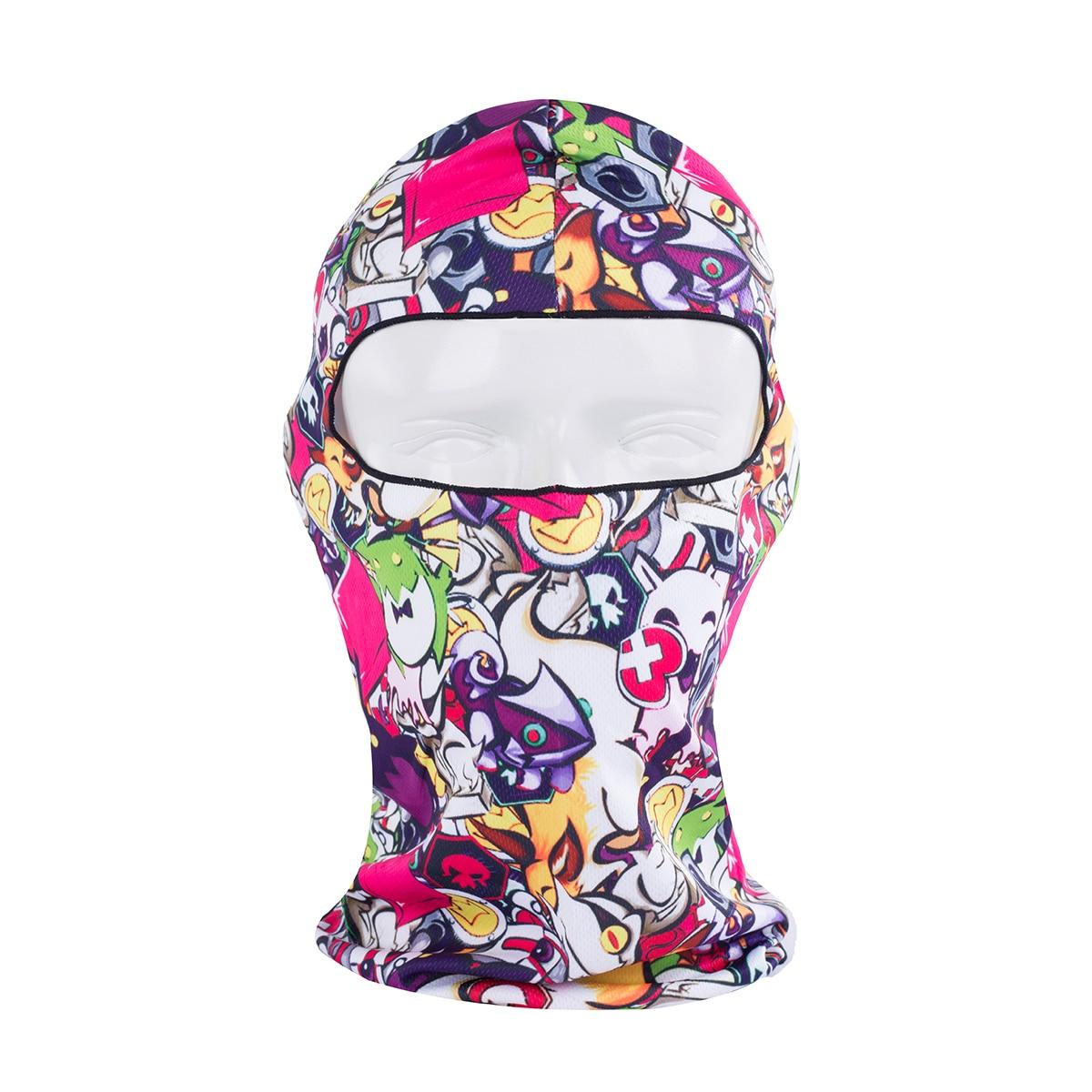 2017 Spring Sport Cycling Motorcycle Mask 3D Animal Active Outdoor Ski Hood Hat Veil Balaclava UV Protect Face Skull Ski Mask
