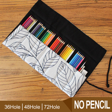 2016 Hot Pencil Case Students 7/9/13 Pokets Pencil Wrap Stationary Roll Brush Pencil Storage Bag For Painting School Supplies 2018 new arrival 48pcs pencil sketch pencil set brush pen knife drawing pencil for students school painting stationary tool