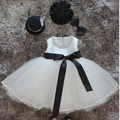 Baby Girl Pageant Wedding Dresses Infant Princess Little Girls 1 Year Birthday Party Dress Newborn Christening Gowns