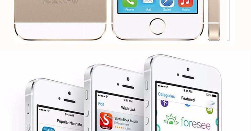 Refurbished 32GB Unlocked Apple iPhone 5S   4