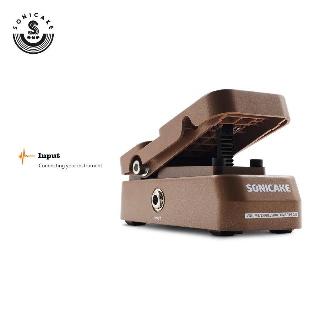 Sonicake Passive Volume Expression Guitar Effects Pedal True Analog Circuit Design Hard Plastic Lightweight Casing Rob QEP-02