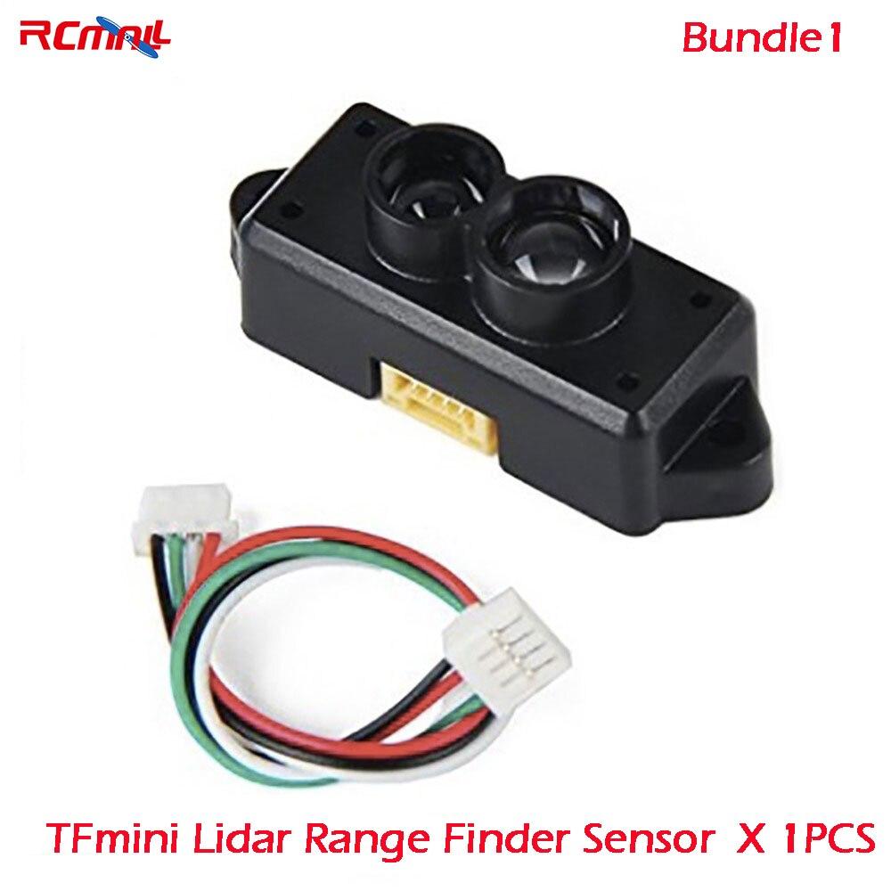 RCmall TFmini/TF02 Lidar Range Finder Módulo de Sensor único punto que van para Arduino Pixhawk Drone FZ3000 FZ3065