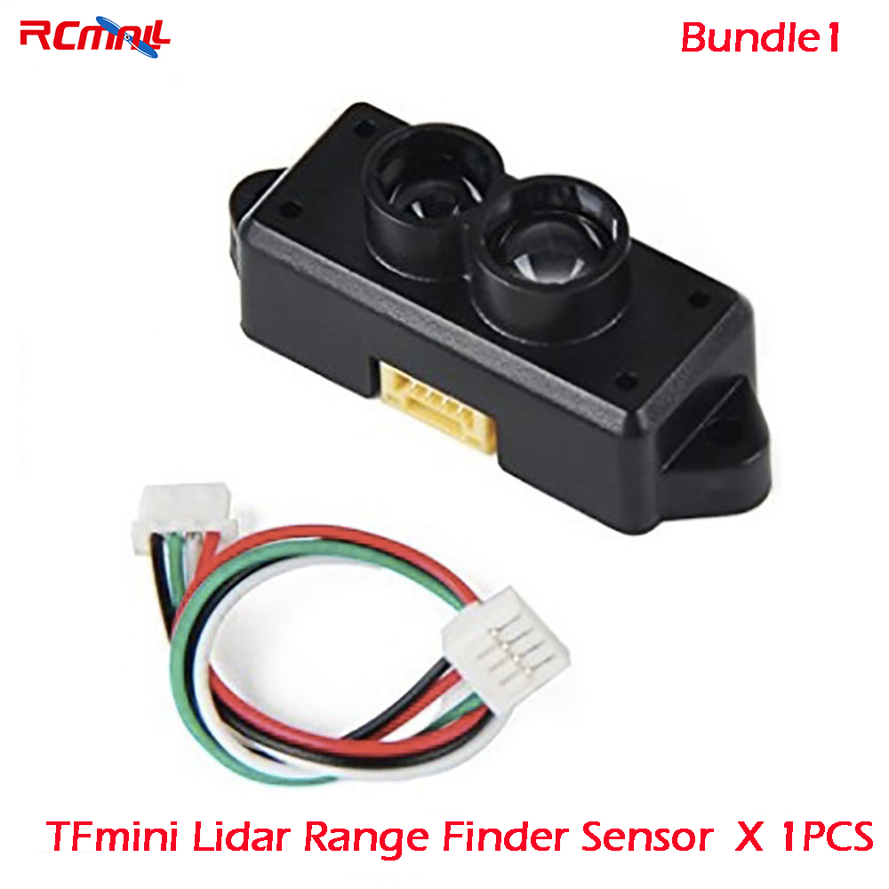 RCmall TFmini/TF02 Lidar Range Finder Sensor Module Single Point Ranging for Arduino Pixhawk Drone FZ3000 FZ3065