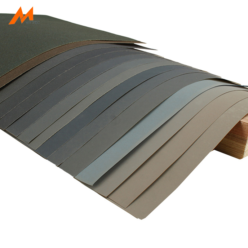 Sanding Paper 10 Sheets Wet And Dry Woodworking Or Metal Polishing Milling Multifunction Home DIY Abrasive Tools